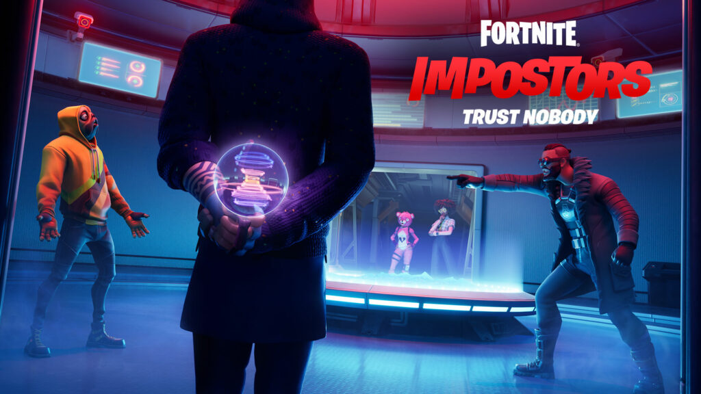 Fortnite teases an Among Us crossover
