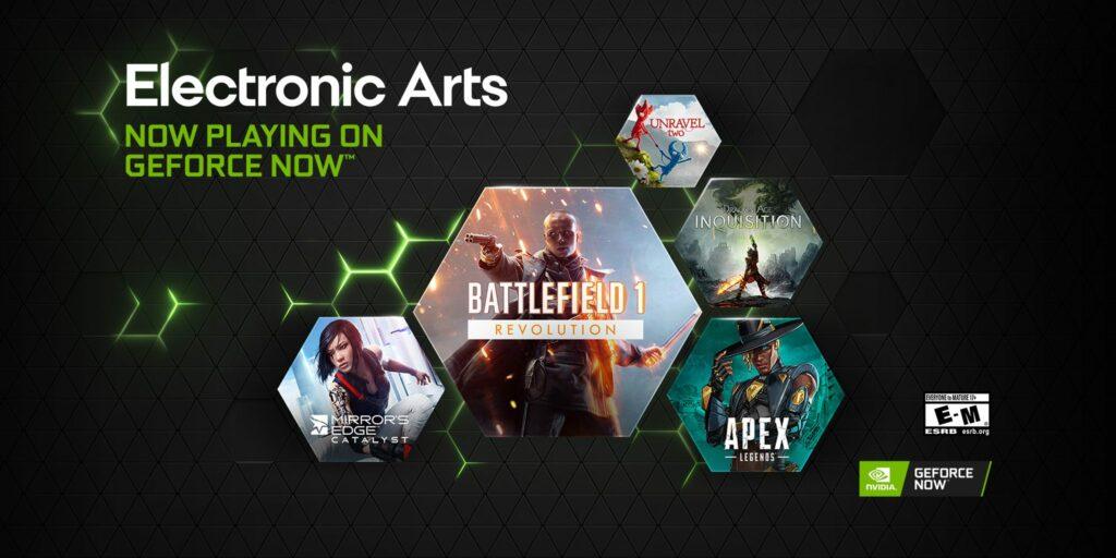 Geforce Now adds EA games