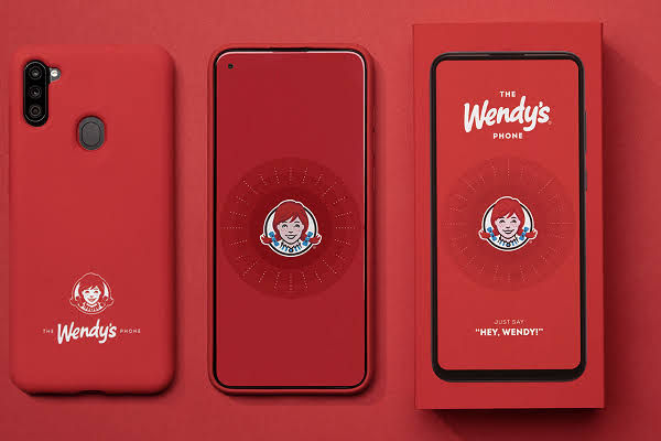 Wendy's limited-edition smartphone