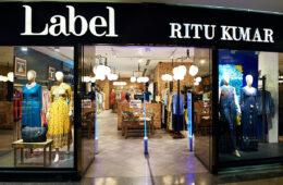 label ritu kumar store