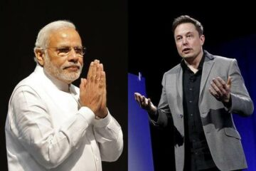 India's PM and Elon Musk